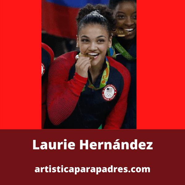 Lauren hernandez Gimnasia artñistica